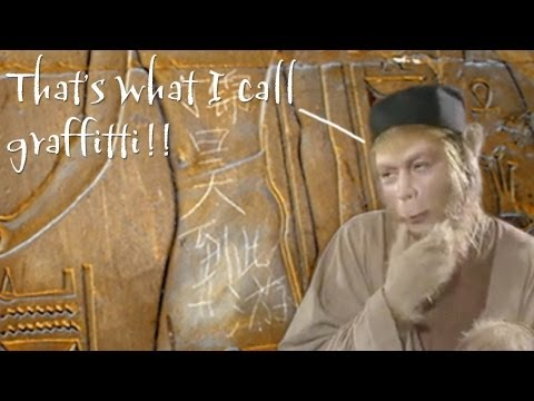 Chinese Graffiti Defaces Egyptian Temple (China in the News) | Learn Chinese Now