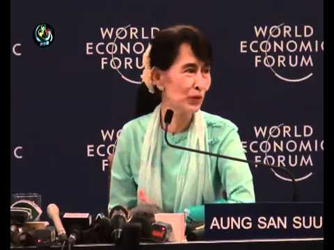DASSK Press Conference @ WEF Bangkok - DVB 16.01.2012