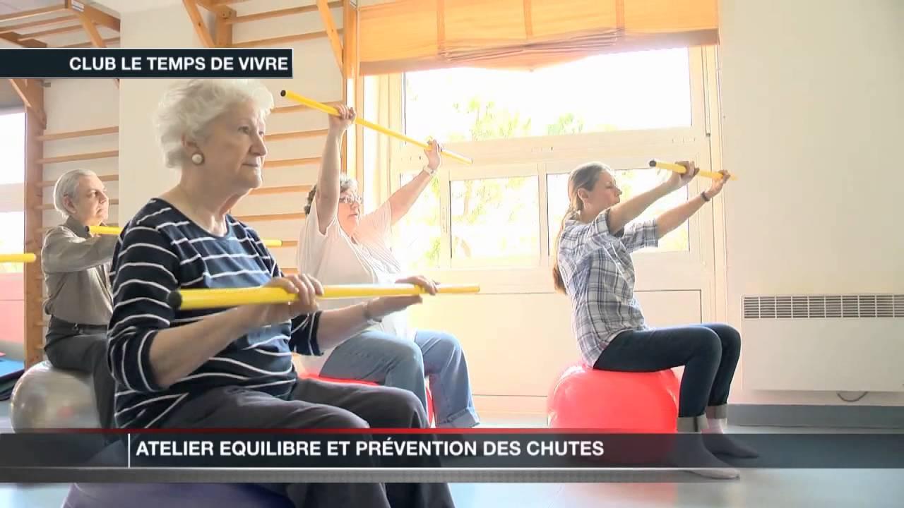 Atelier quilibre pour les personnes g es youtube - Exoneration redevance tv personnes agees ...