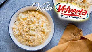 Velveeta Style Keto Mac and Cheese | Liquid Gold!