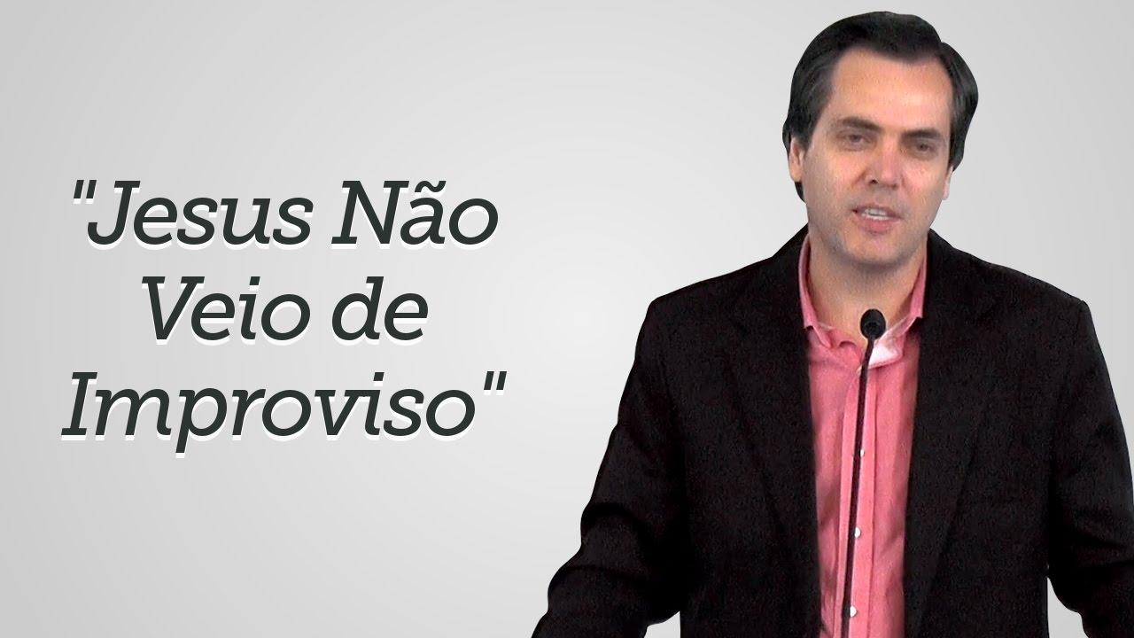 """""""Jesus Não Veio de Improviso"""" - Leandro Lima"""