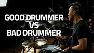 Download Lagu How To Tell A Good Drummer From A Bad Drummer Gratis STAFABAND