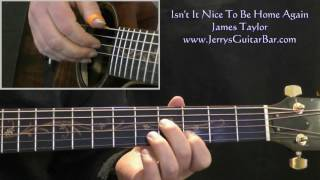 Watch James Taylor Isnt It Nice To Be Home Again video