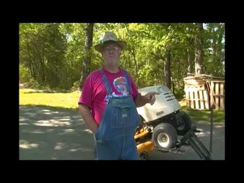 Review of the Harbor Freight High Lift Riding Lawn Mower/ATV Lift #60395