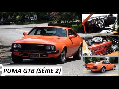 Garagem do Bellote TV (HD): Puma GTB S2