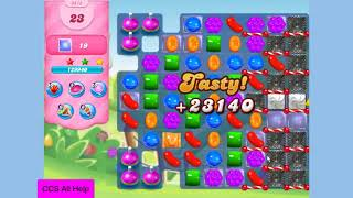 Candy Crush Saga Level 3415 NO BOOSTERS Cookie