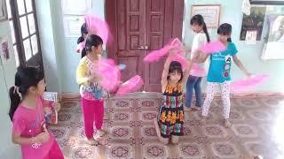 Tập múa Quạt Mái Trường Mến Yêu | Thúy Nga cùng Top múa