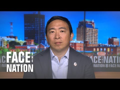 Dem candidate Andrew Yang defends plan to give every American $1,000 a month