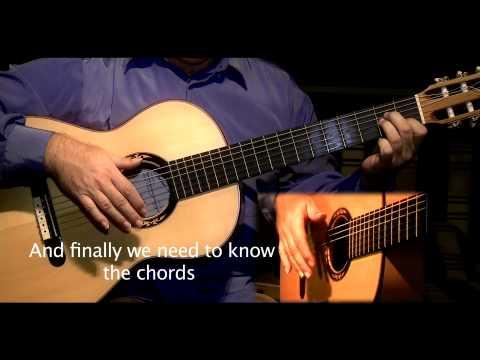Flamenco Guitar Sevillanas lesson by Jose Manuel Montoya-Clase de Sevillanas por Jose Manuel Montoya