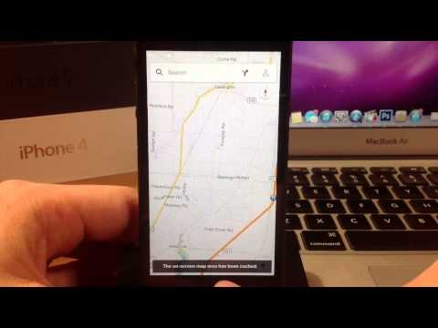 How to save offline maps in Google Maps 2.0 for iPhone and iPad
