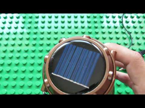 Unboxing GH-5800T 6 LED Solar Rechargeable Camping Lantern