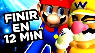 FINIR SUPER MARIO 64 DS EN 12 MINUTES (feat. Farod) [Laupok Speed Comment]