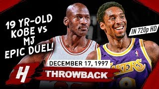 The Game Kobe Bryant SHOWED OFF vs Michael Jordan, EPIC Duel Highlights 1997.12.17 - MJ is IMPRESSED
