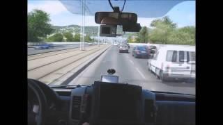 🔴 Fast Emergency Drive Hungary - Schnelle RTW Einsatzfahrt Ungarn