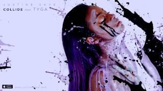 Tyga Video - Justine Skye ft Tyga - Collide (Prod. DJ Mustard)