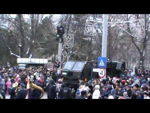 Parada Militara De 1 Decembrie 2014 Buzau Video.2