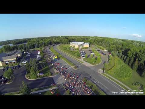 Sherburne County Fair Parade Aerial Views - Elk River, MN - DJI Phantom