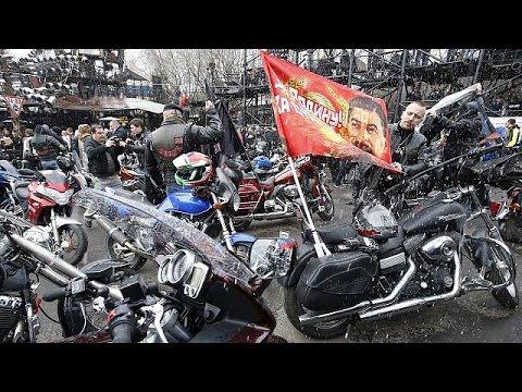 موكب للدراجات النارية من موسكو إلى برلين  25-4-2015