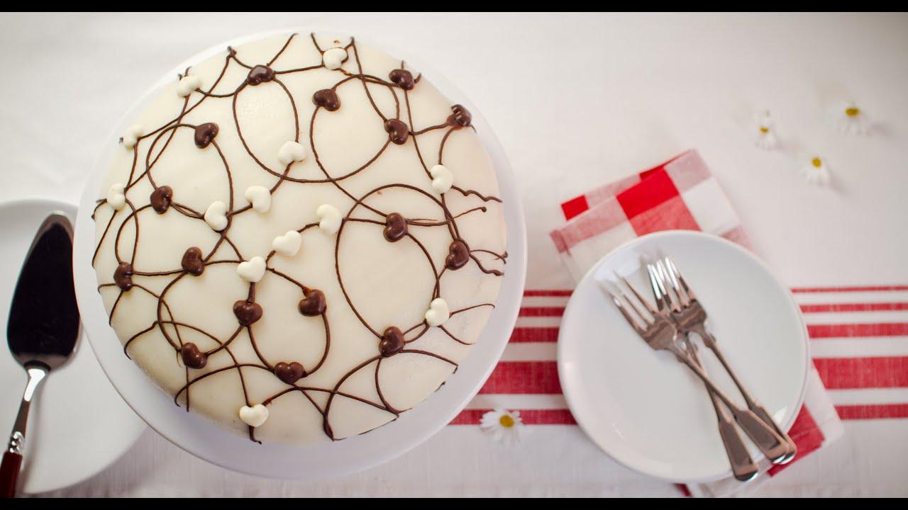 tipp torte mit marzipan einkleiden von dr oetker youtube. Black Bedroom Furniture Sets. Home Design Ideas