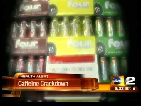 City banning alcoholic caffeine drinks