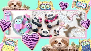 ADORABLE ANIMALS! Cookie Decorating Compilation by SweetAmbs