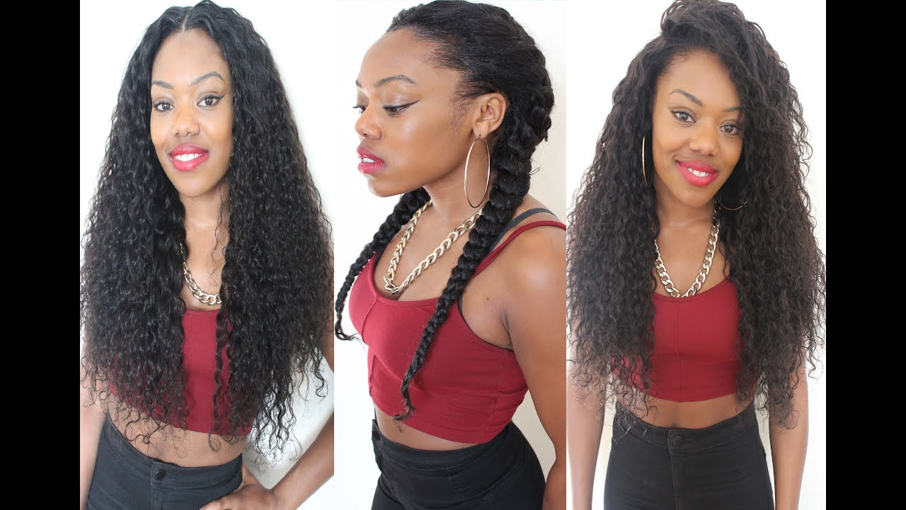 The Versatile Flip Over Sew In - Various Styles - YouTube