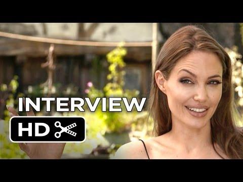Maleficent Interview - Angelina Jolie (2014) - Disney Fantasy Movie HD