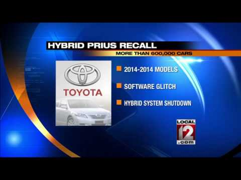 Toyota recalls 625,000 Hybrids worldwide