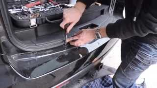 Как снять задний бампер на Ssang Yong Kyron.How to Removing the rear bumper for Ssangyong