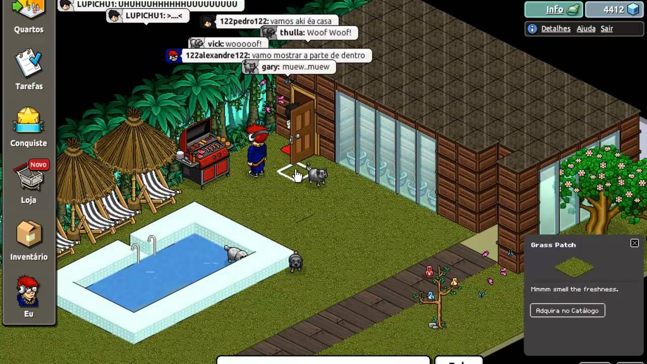 Casa de luxo no habbo youtube for Casa moderna de habbo