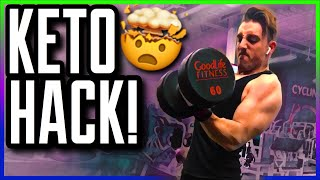 Keto Bodybuilding: The Best Pre Workout Hack You NEED to Use NOW! (91% Don't Use This Easy Item)