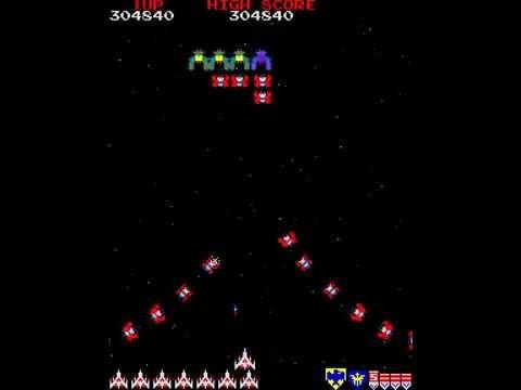 Arcade Longplay [535] Galaga