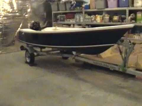 "Tango Skiff 14 ""Double Take"" Stitch and Glue Boat Building - YouTube"