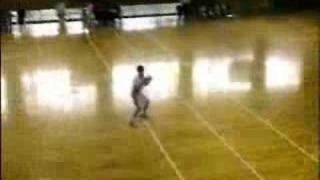 中学ハンドボール2007尾北カップ男子準決勝前半1