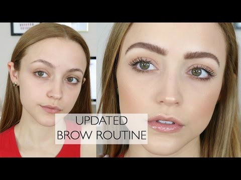 How To: FEATHERY BROWS   My Brow Routine & My Favorite Products