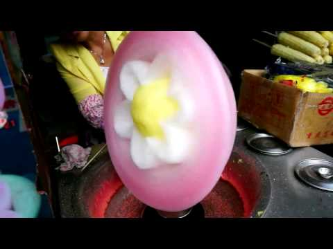 How to make a flower shaped candyfloss