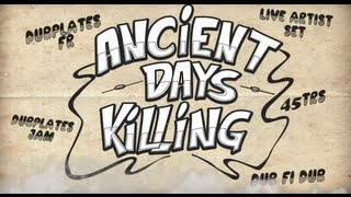 ANCIENT DAYS KILLING - STAND TALL VS BLUES PARTY -  REGGAE SOUND CLASH