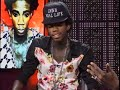 Alkaline Interview Onstage [video]