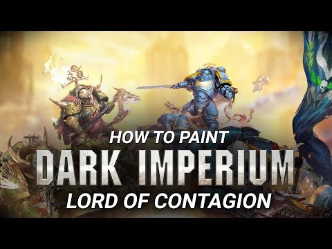 How to paint: Lord of Contagion.