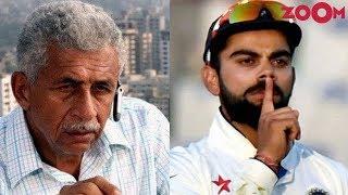 Naseeruddin Shah calls Virat Kohli the worst behaved player | Bollywood News