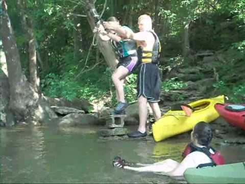 Swinging on the Elkhorn Creek