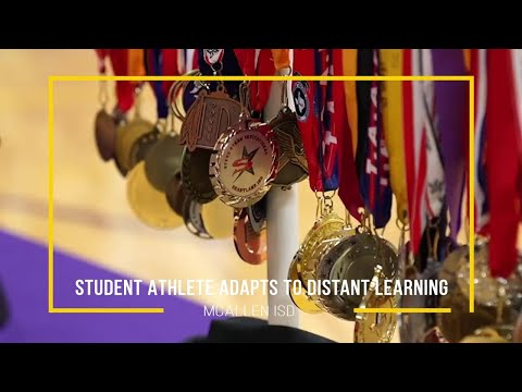 McAllen HS student-athlete adapts to distance learning | McAllen ISD