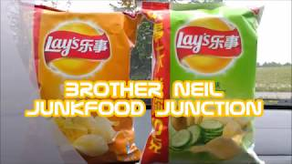 Lay's Cheese vs Cucumber flavours CHINA May 2018