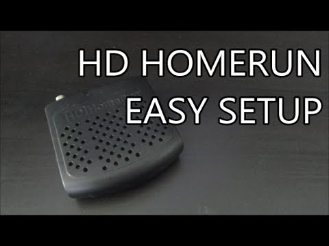 Tech Tip #29 HDHomerun - DIY DVR w/ HDHomerun Install & Setup w/ Windows Media Center & Xbox 360
