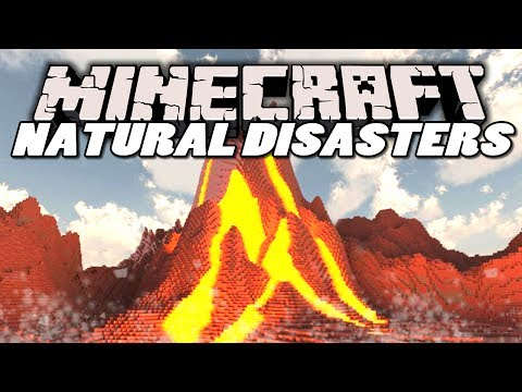 Minecraft Mods   NATURAL DISASTERS MOD! (Earthquakes. Meteors & Volcanoes)   Mod Showcase