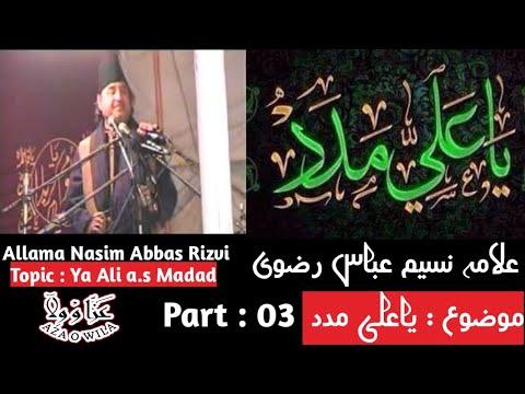 Allama Naseem Abbas Rizvi 3.