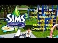 How to Install and Download The Sims 3 Generations 100% WORKS! Detailed!