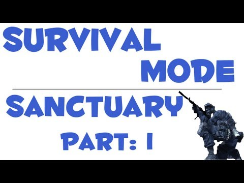 MW3 Survival Mode: Sanctuary (DLC) - Live Commentary [Part 1]