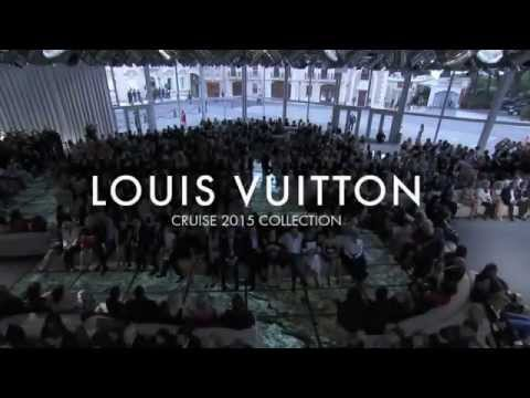 """LOUIS VUITTON"" Menswear Spring Summer 2015 Paris Cruise Collection by Fashion Channel"