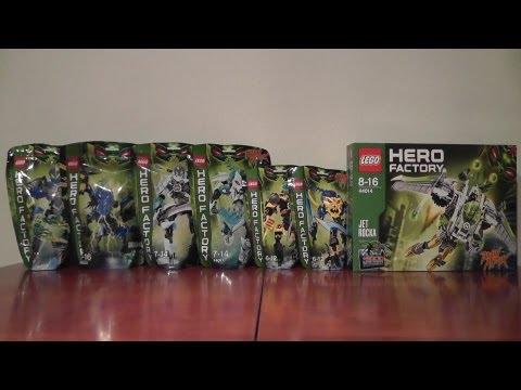 LEGO HERO FACTORY NOWOŚCI SIERPIEŃ 2013